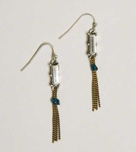 AEO Jeweled Chain Earrings