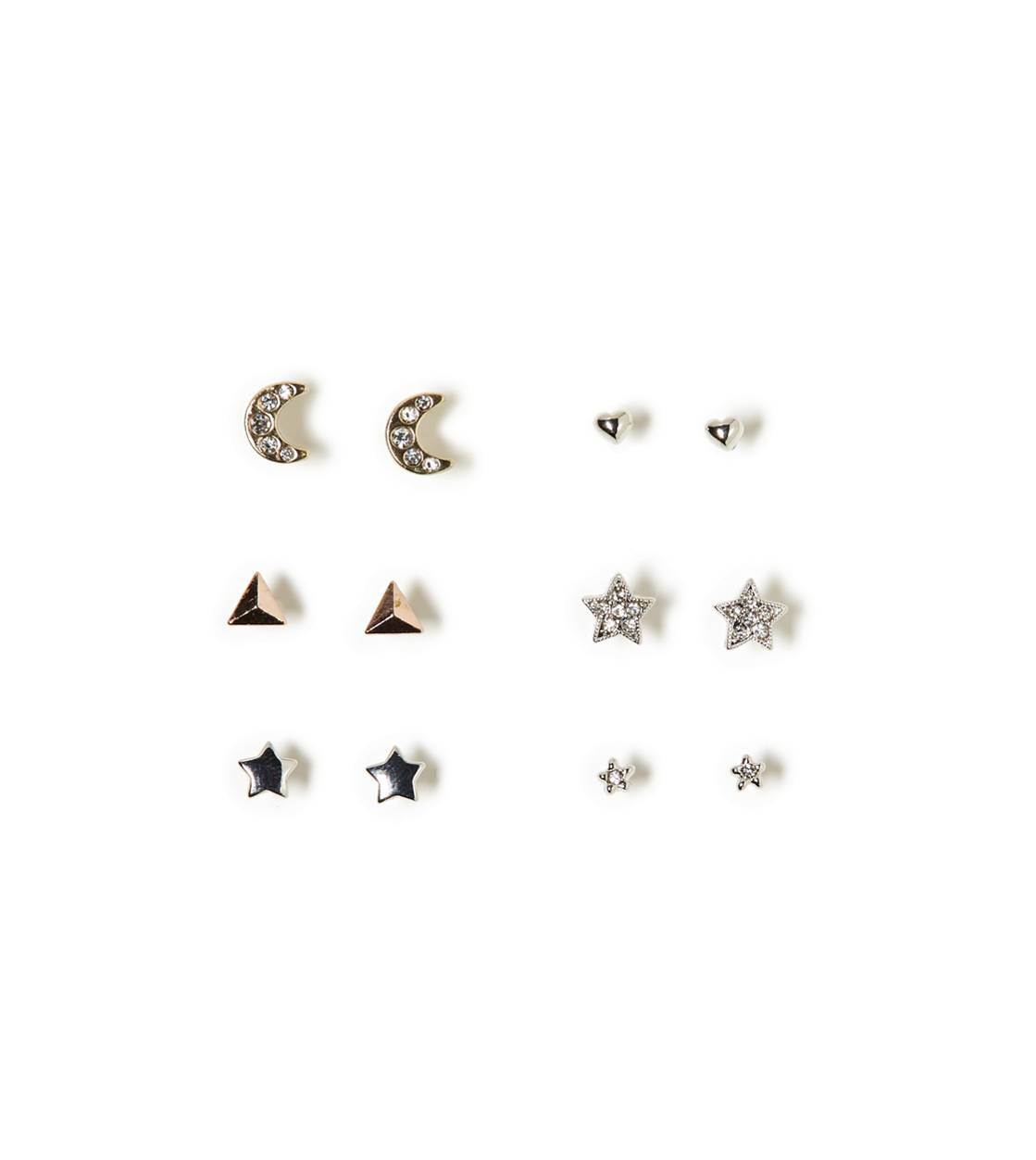 Multi AEO Stud Shapes 6-Pack