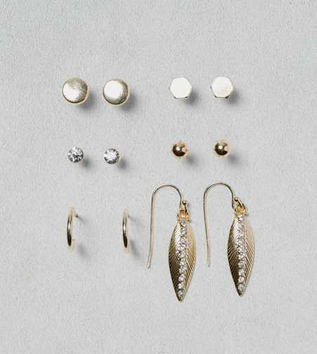 AEO Geo and Stud Earring 6-Pack - Buy One Get One 50% Off