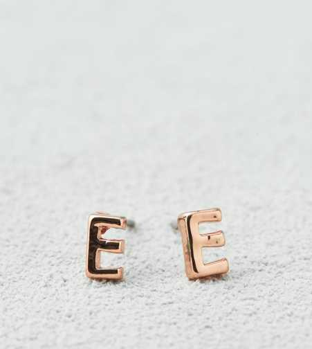 AEO Rosegold Initial Studs  - Buy One Get One 50% Off