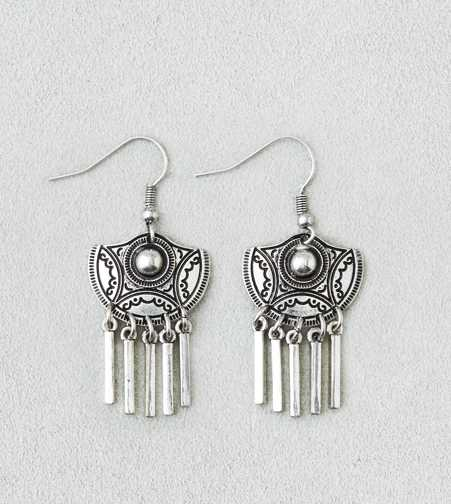 AEO Etched Chandelier Earrings