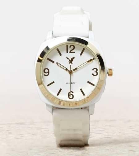 AEO White Rubber Watch - Buy One Get One 50% Off