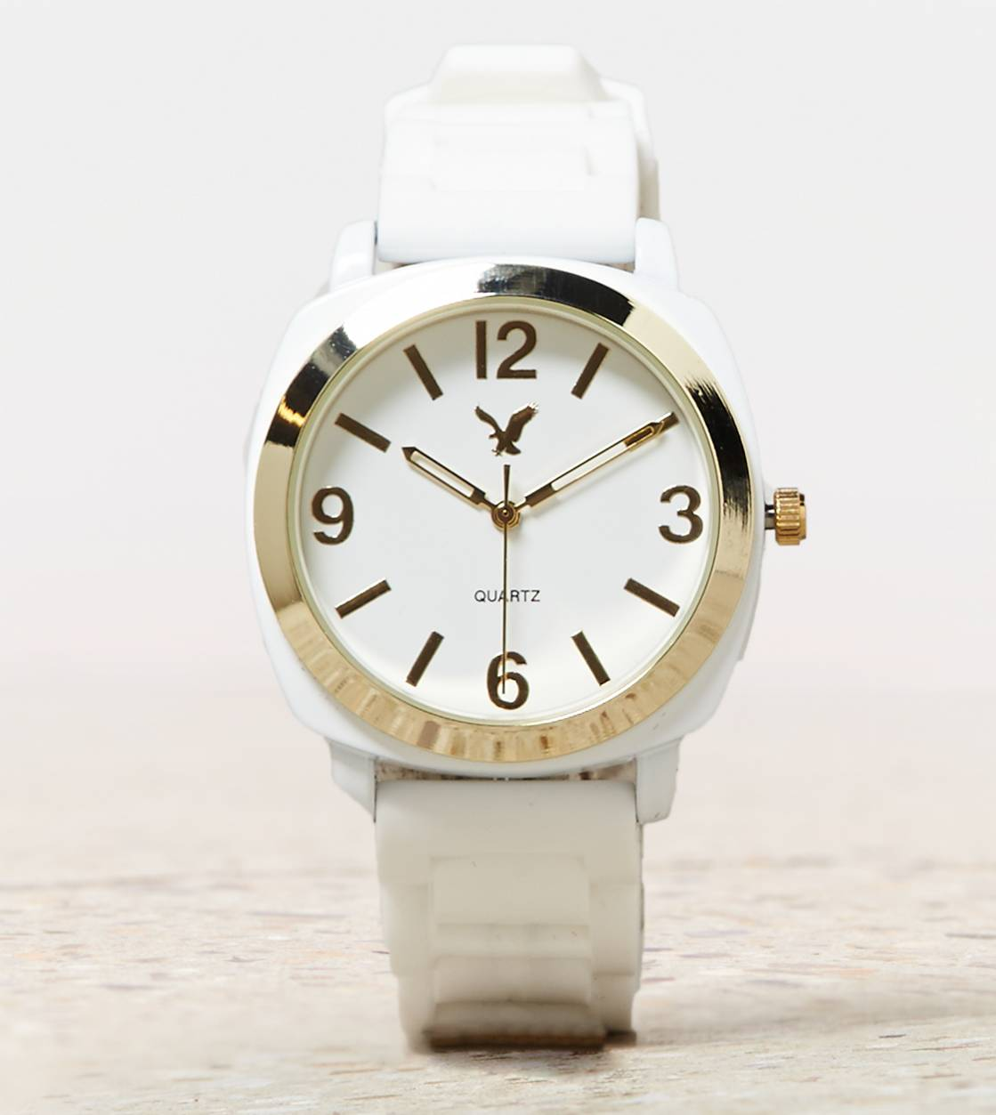 White  AEO White Rubber Watch