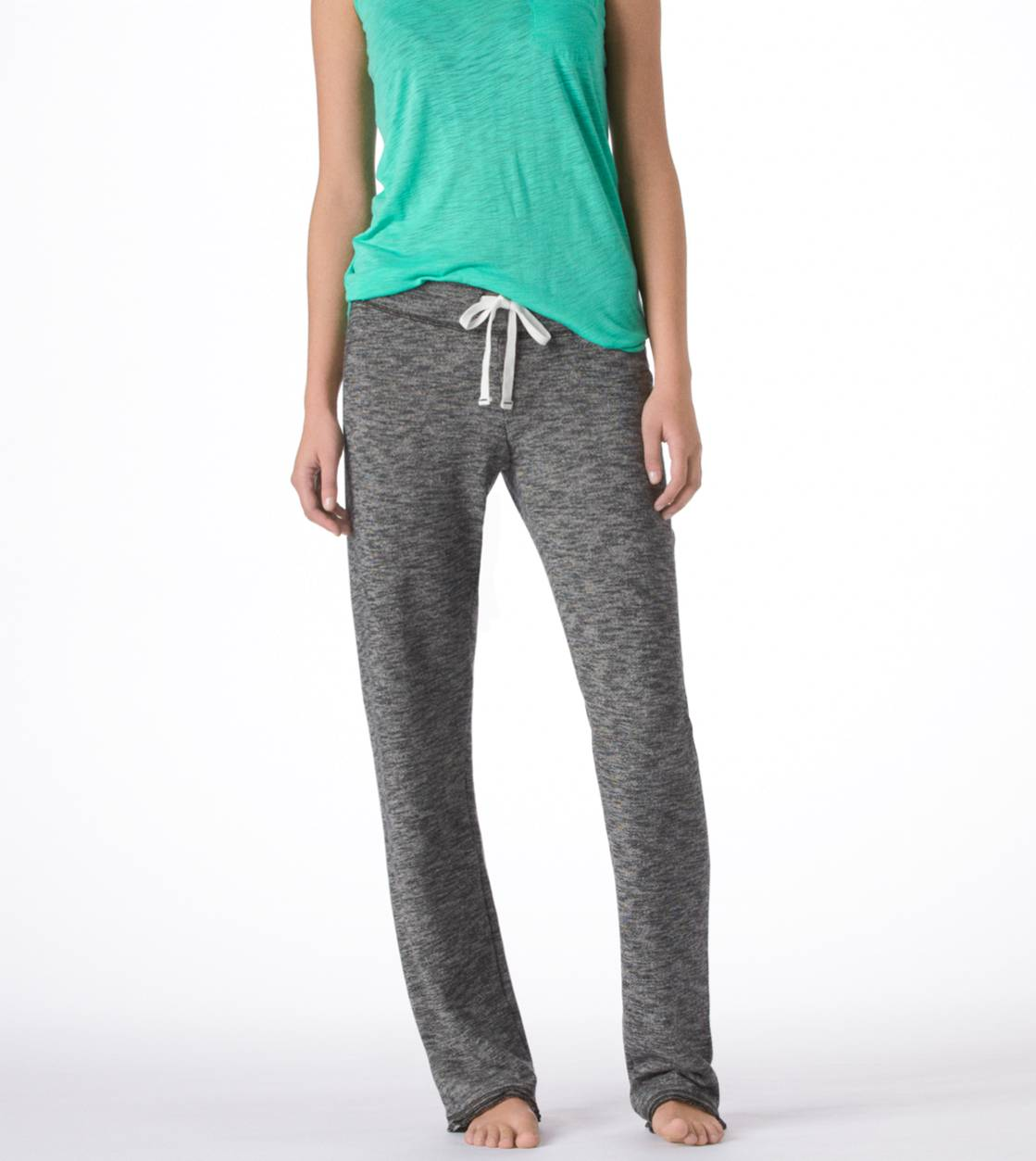 Charcoal Heather Aerie Classic Sweatpant