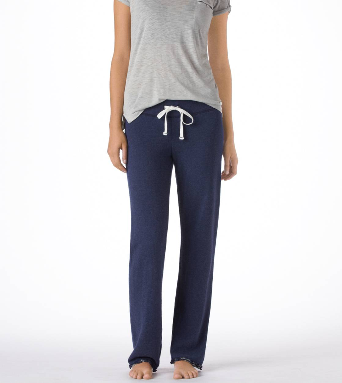 Navy Heather Aerie Classic Sweatpant