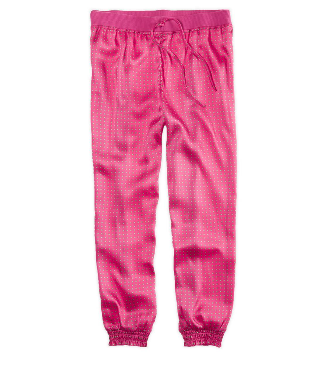 Pink Aerie Day to Night Silky Pant