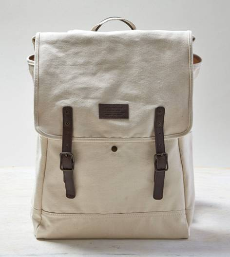 Natural AEO Canvas Backpack