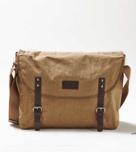 AEO Canvas Messenger Bag