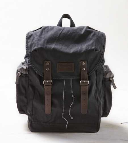 AEO Canvas Buckled Backpack