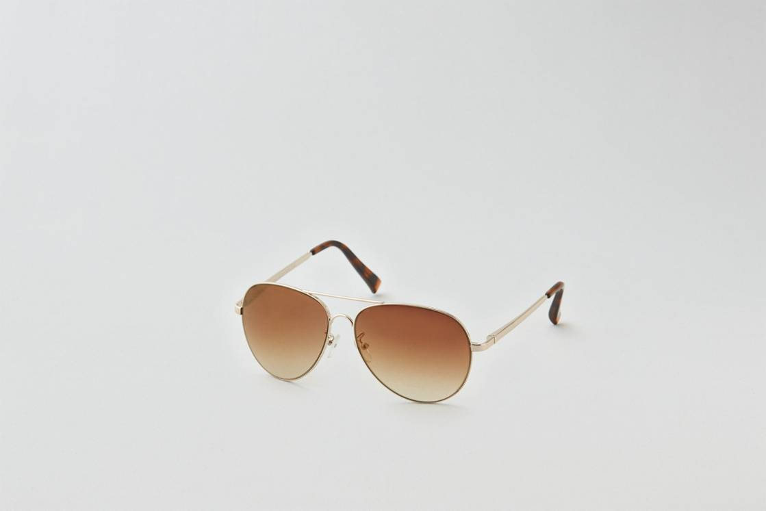 Gold AEO Aviator Sunglasses