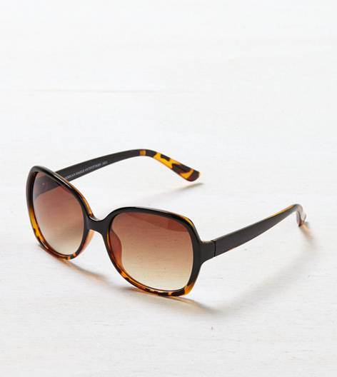 Black AEO Ombre Tortoise Shell Sunglasses