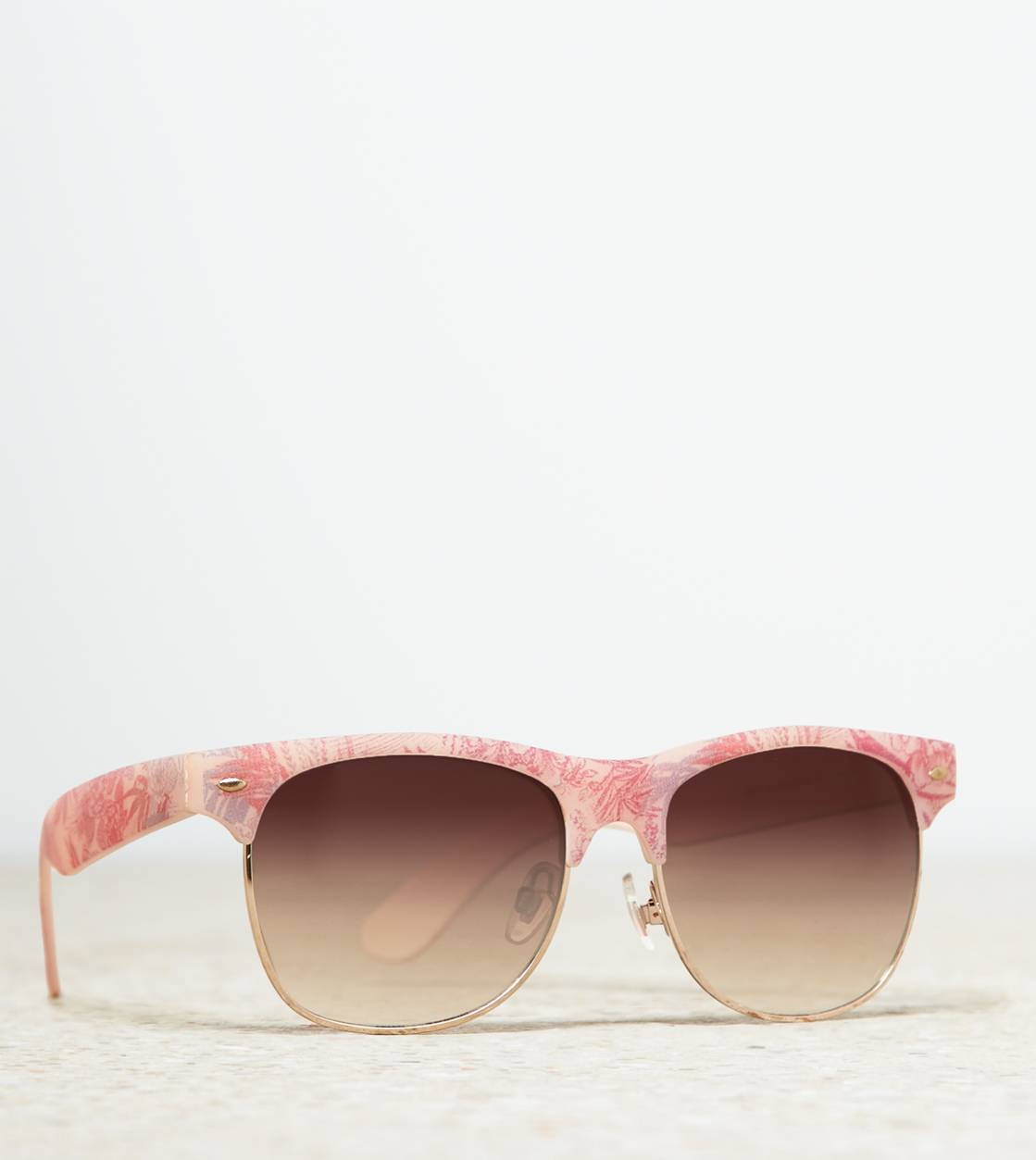 Multi AEO Tropical Print Sunglasses