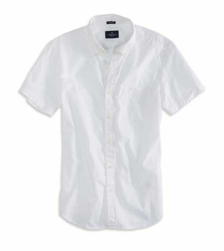 AEO Factory Short Sleeve Button Down Shirt