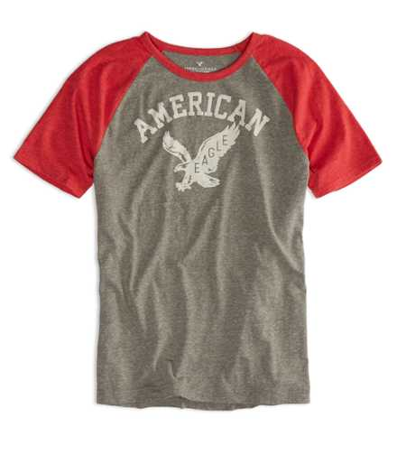 AEO Factory Signature Graphic T-Shir