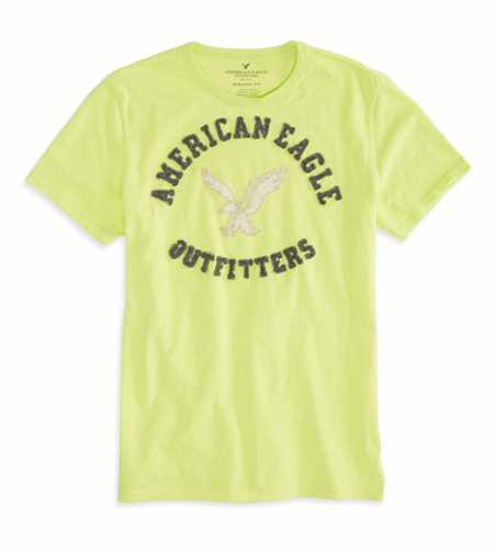 AEO Factory Applique Graphic T-Shirt