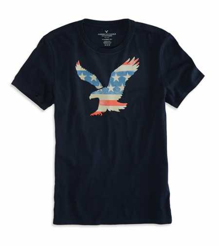 AEO Factory Americana Graphic T-Shirt