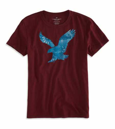 AEO Factory Bandana Graphic T-Shirt