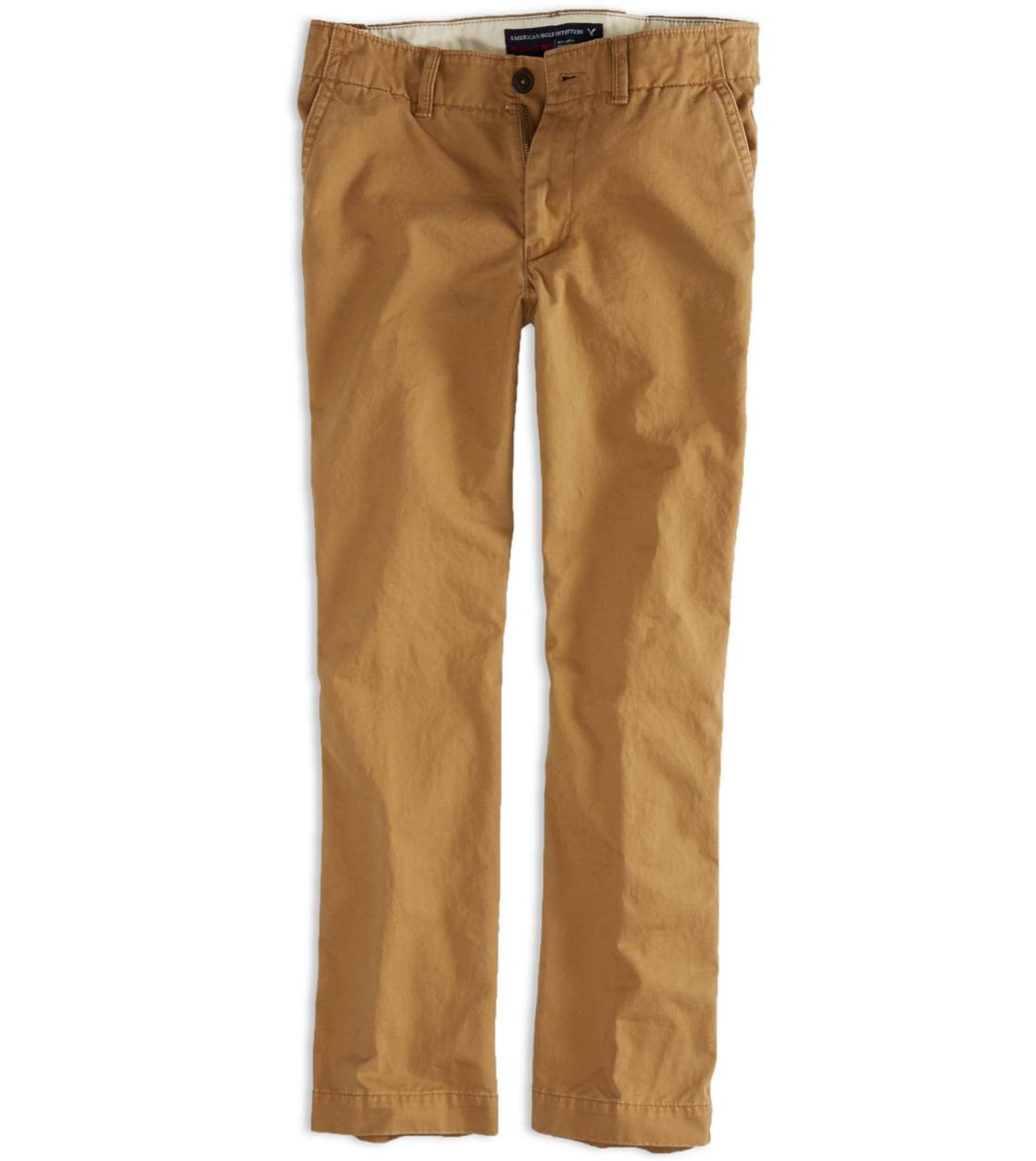 Campus Khaki AEO Factory Original Straight Khaki