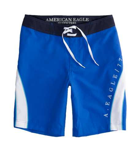 AEO Factory Applied Stripe Board Short