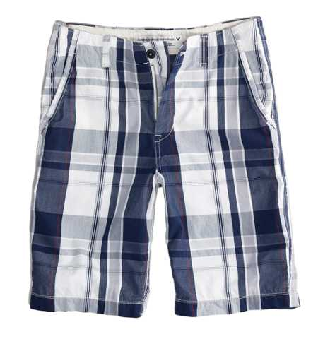 AEO Factory Longboard Plaid Short