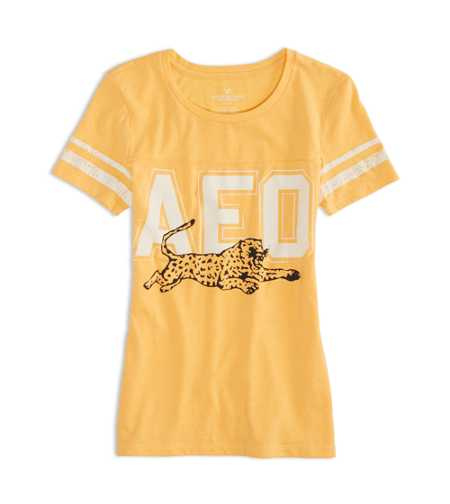 AEO Factory Varsity Graphic T-Shirt