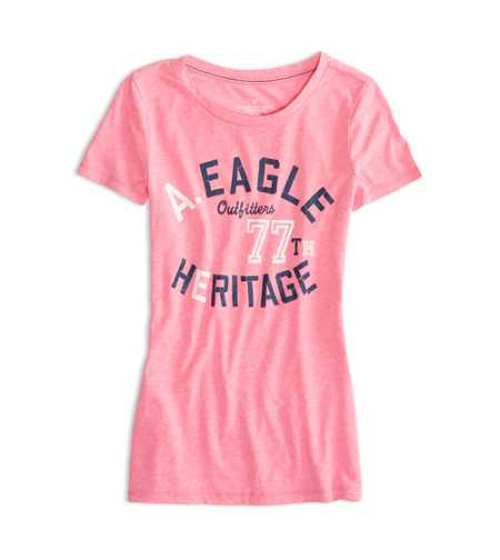 AEO Factory Heritage Graphic T-Shirt