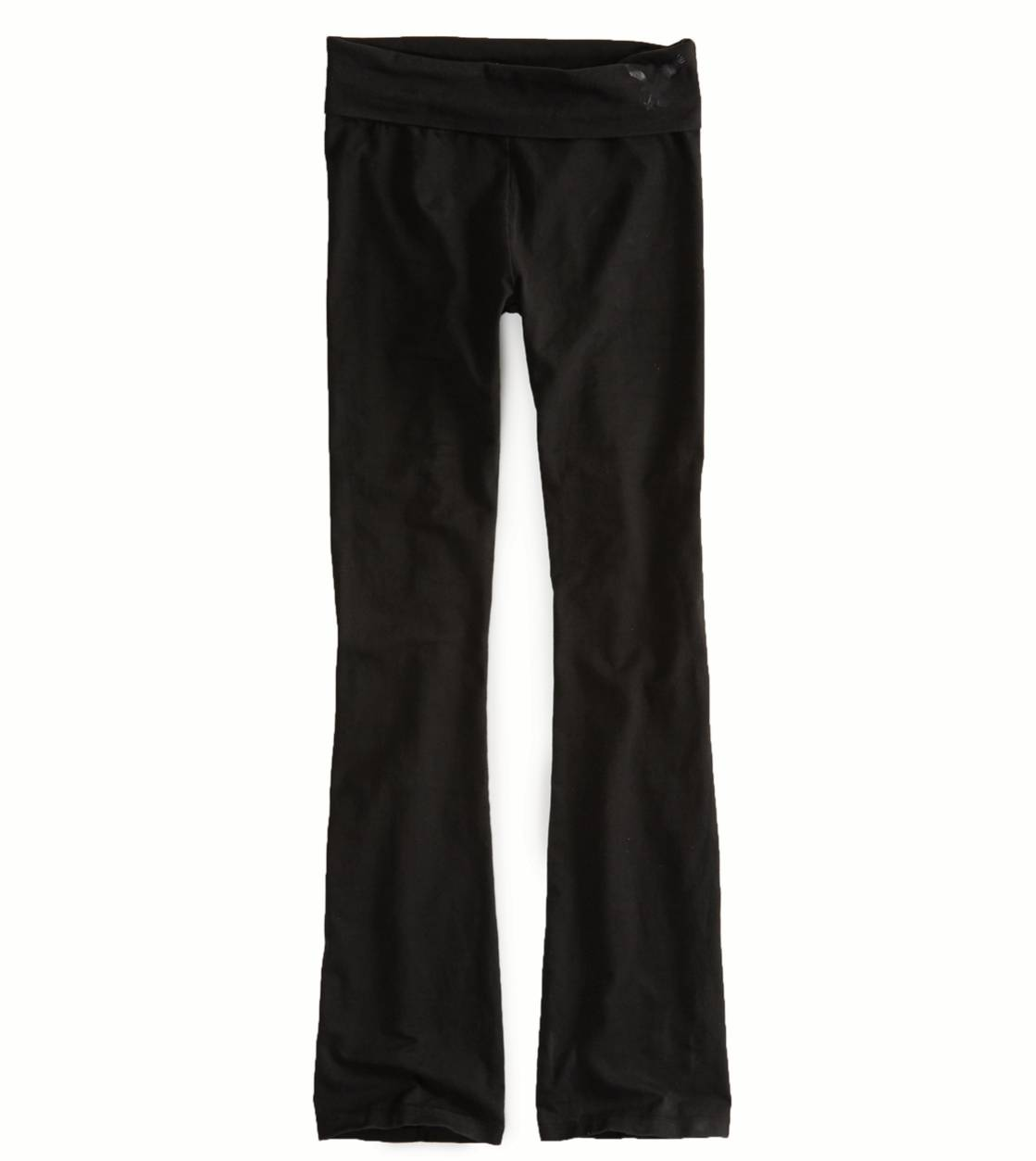 True Black AEO Factory Yoga Pant