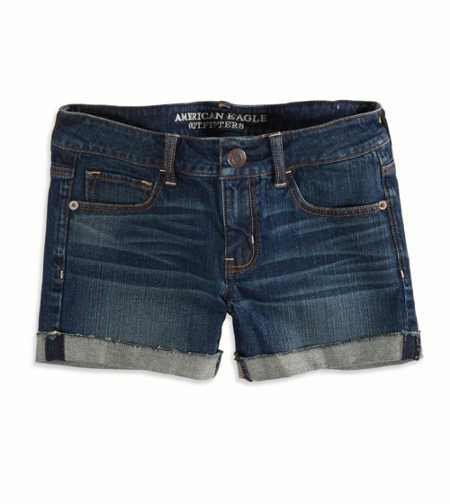 AEO Factory Cuffed Denim Mi