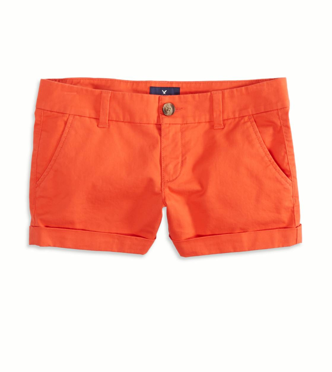 Tropic Orange AEO Factory Midi Short