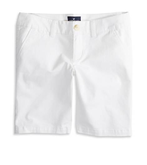White  AEO Factory Bermuda Short