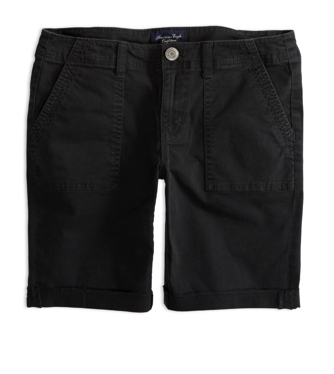 Black AEO Factory Surplus Bermuda Short
