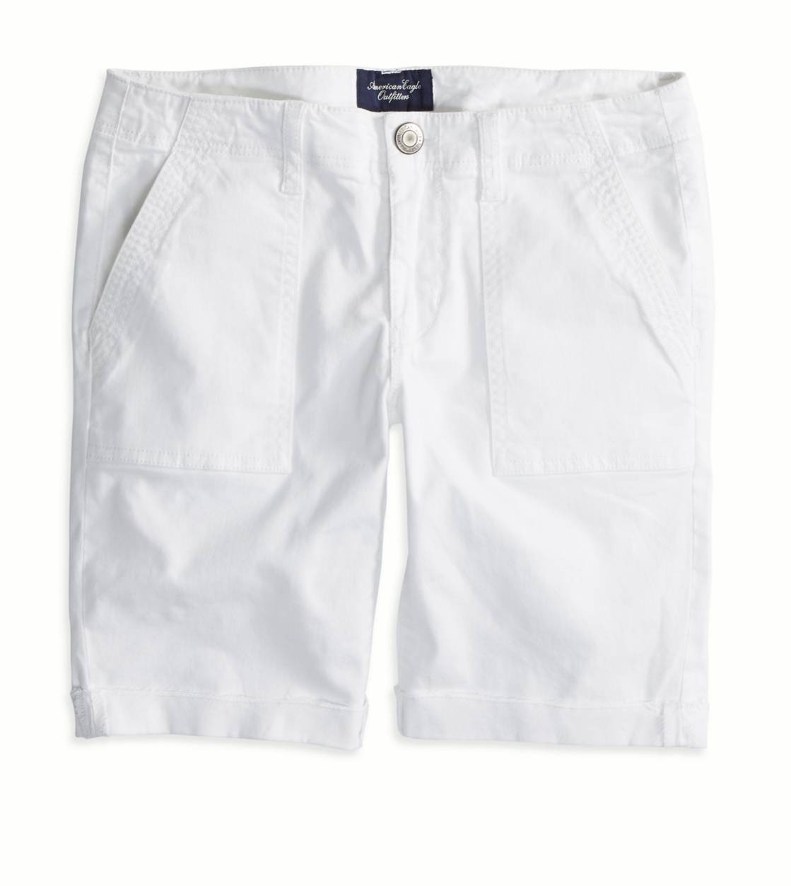 White  AEO Factory Surplus Bermuda Short