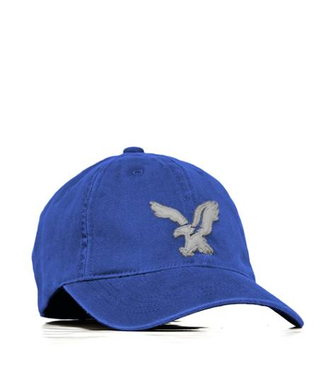 Gravity Blue AEO Factory Signature Applique Baseball Cap