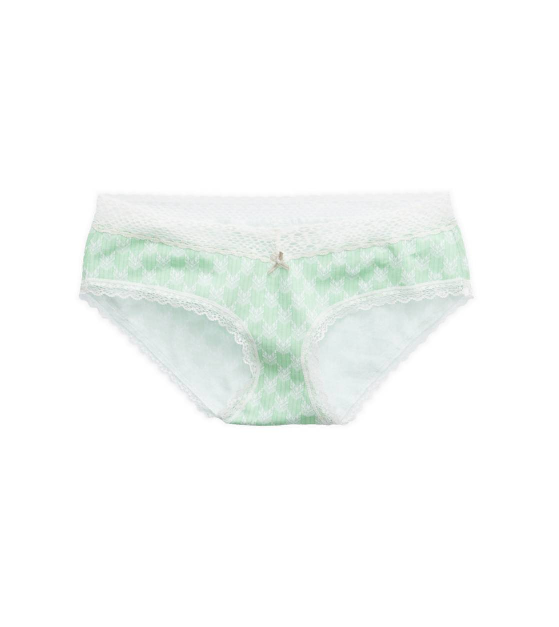 Cupcake Green Aerie for AEO Ruched Boybrief