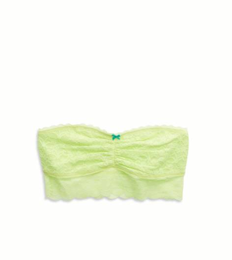 Yellow Infusion Aerie For AEO Vintage Lace Bandeau