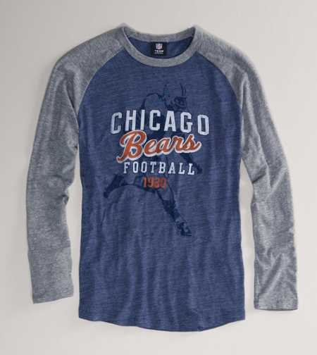 Chicago Bears NFL Raglan T