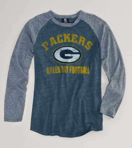 Green Bay Packers NFL Raglan T