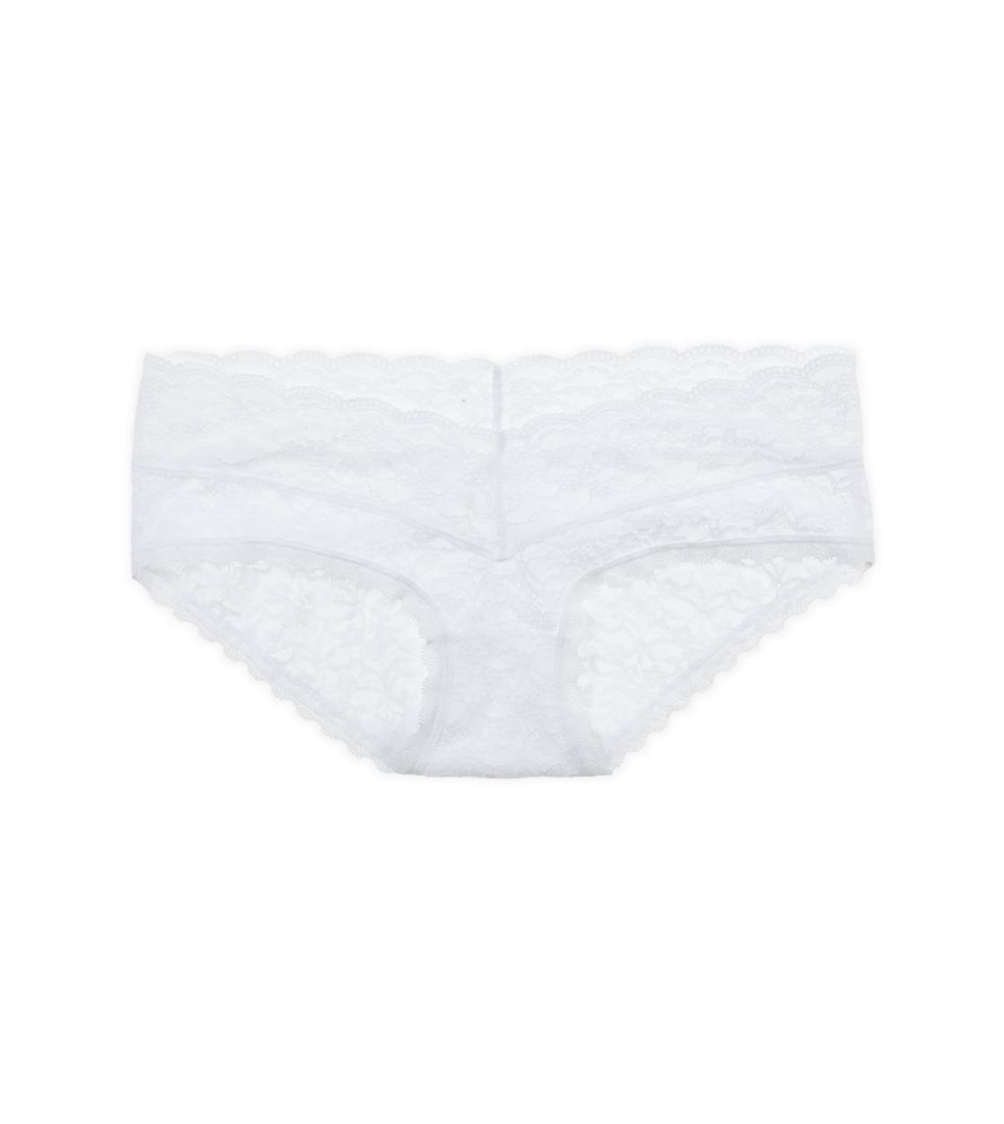 White  Aerie for AEO Vintage Lace Boybrief