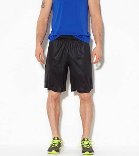 True Black AEO Performance Workout Short
