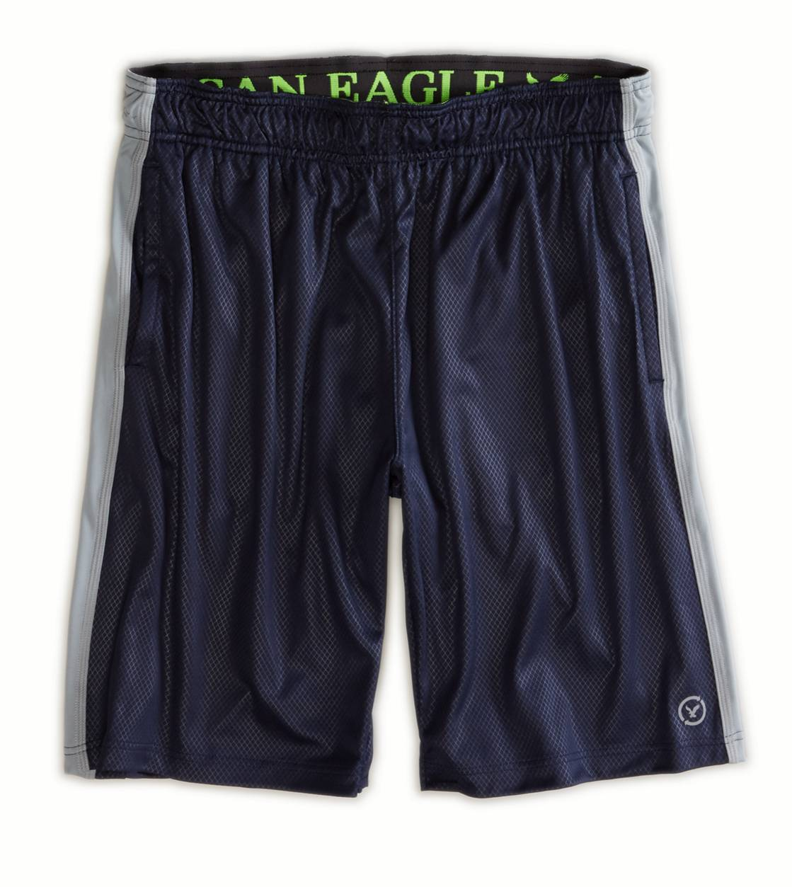 Deep Navy AEO Performance Workout Short
