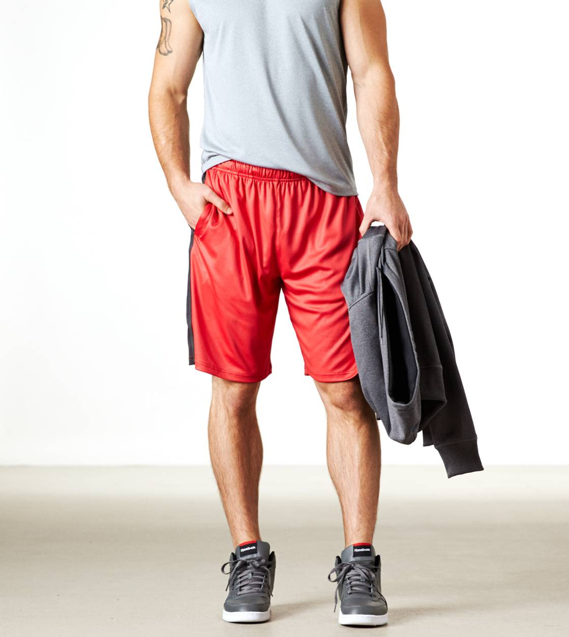 Red Cord AEO Performance Workout Short