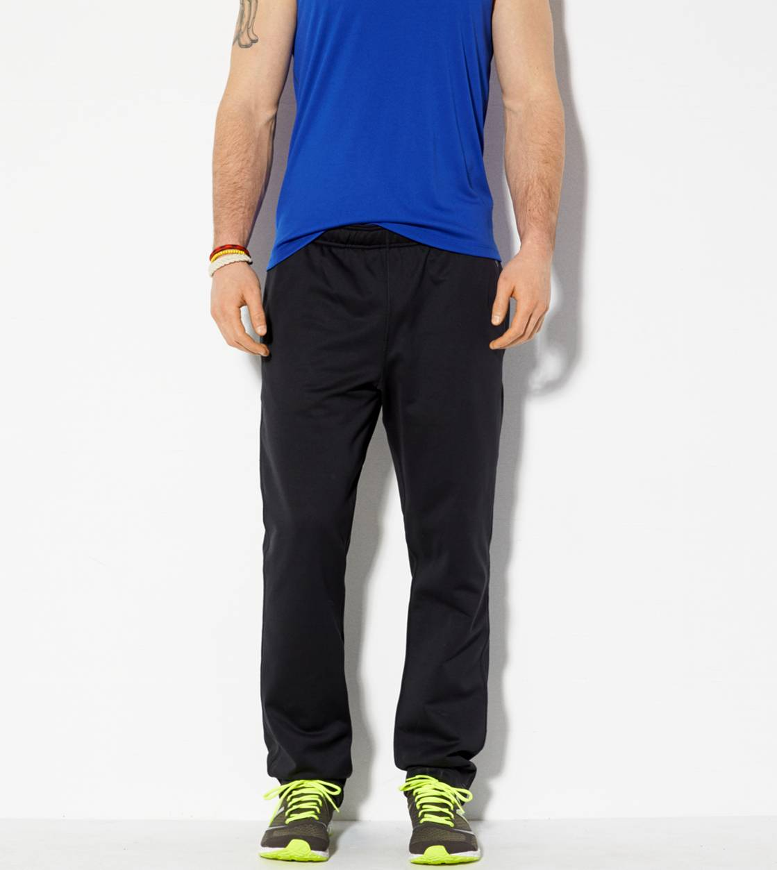 True Black AEO Performance Track Pant