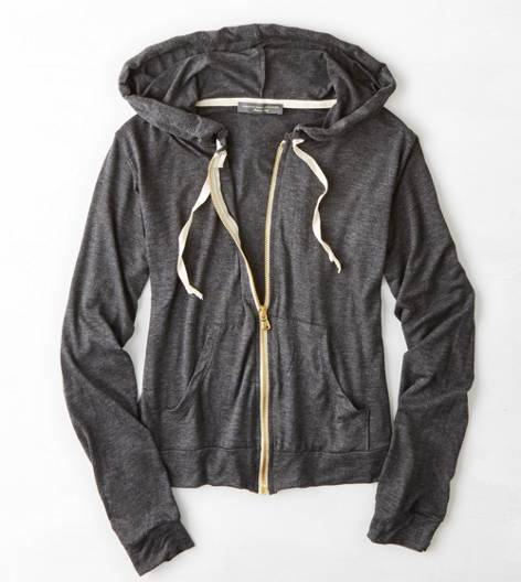 Heather Grey Don't Ask Why Full Zip Hoodie