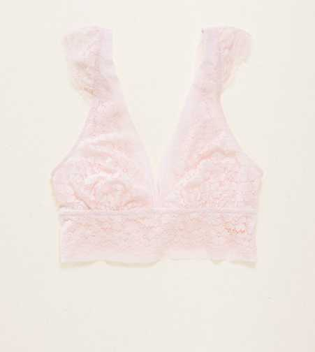 Aerie Romantic Lace Plunge Bralette  - Free Shipping & Returns