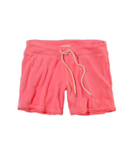 Aerie Fleece Midi Short