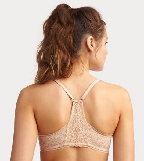 Natural Nude Brooke Racerback Pushup Bra