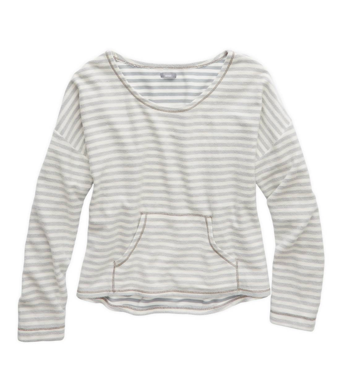 Slab Grey Aerie Inside-Out Sweatshirt