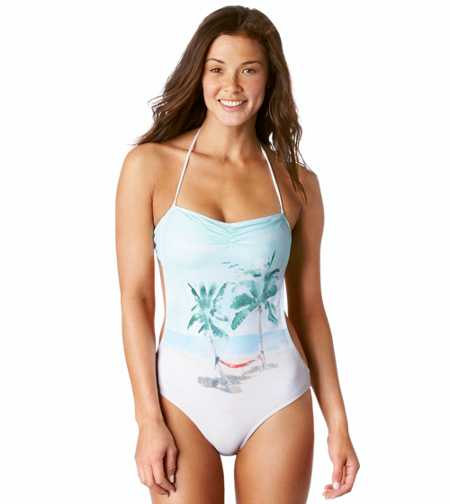 Aerie Photo One-Piece Swimsuit