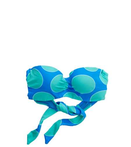 Daisy Bandeau Bikini Top - Free Shipping On Swim
