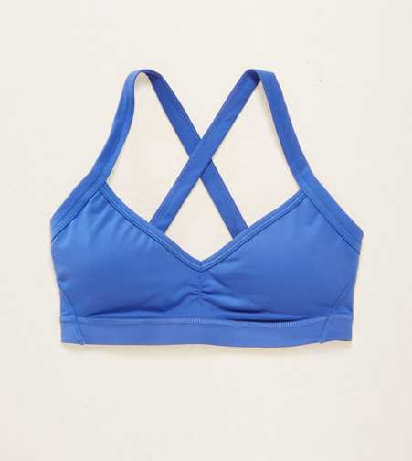 Aerie Lightly Lined X-Back Sports Bra  - Free Shipping & Returns